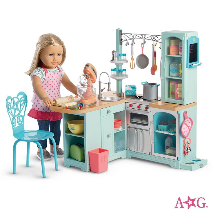 Gourmet kitchen set truly me pinterest kitchen sets for Kitchen set doll