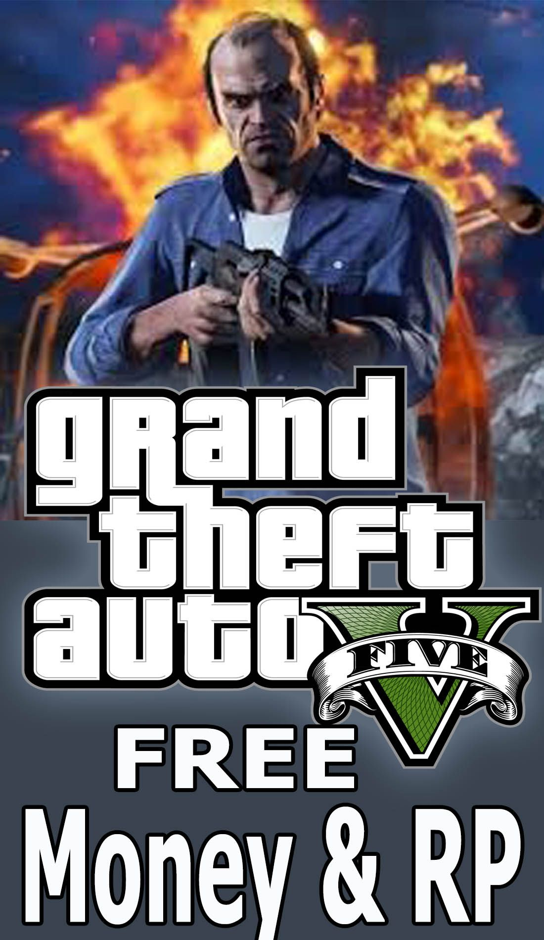 New GTA 5 hack get free unlimited Money and RP Gta 5
