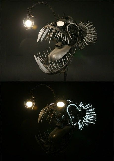 Fish Head Light Amazing Designs