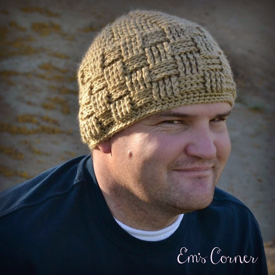 This is a collection of my favorite hat patterns for men all of ravelry basket weave beanie pattern by crochet by jennifer bankloansurffo Choice Image