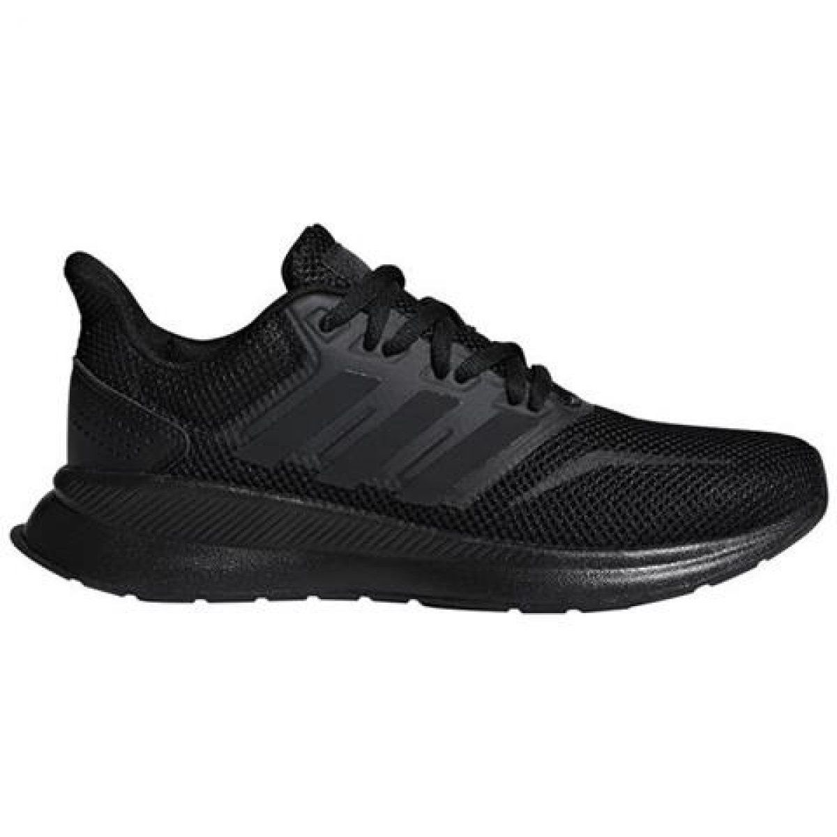 Buty Adidas Runfalcon Jr F36549 Czarne Kids Sports Shoes Girls Shoes Stylish Running Shoes