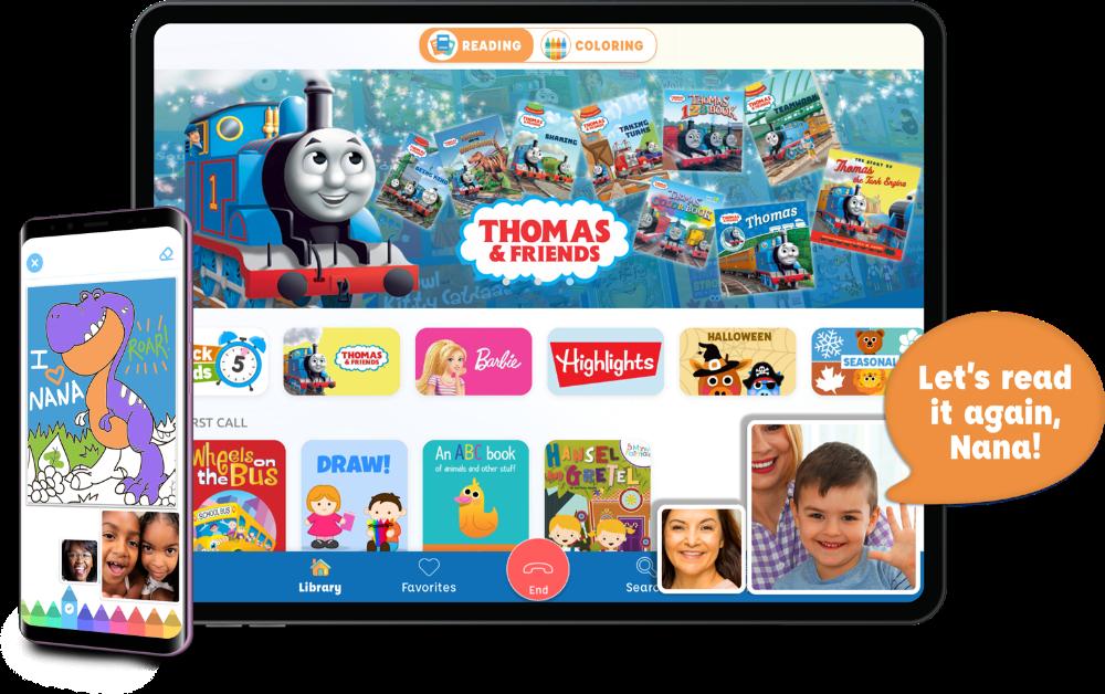 Caribu 1 App to Videocall Grandkids in 2020 Baby