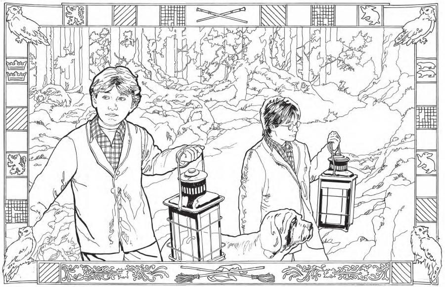 Harry Potter coloriage | Cinéma | Pinterest