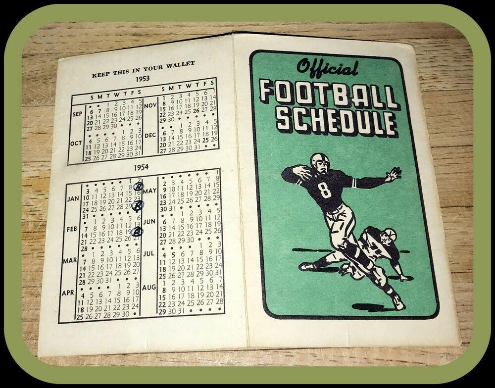 1953 TECH REESE BARBER SHOP FOOTBALL