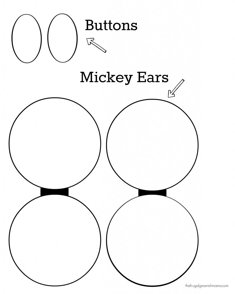 Mickey Mouse Shoes Cut Out Cardstock Really Works Best For This Diagram Type Of Project To Help It Keep