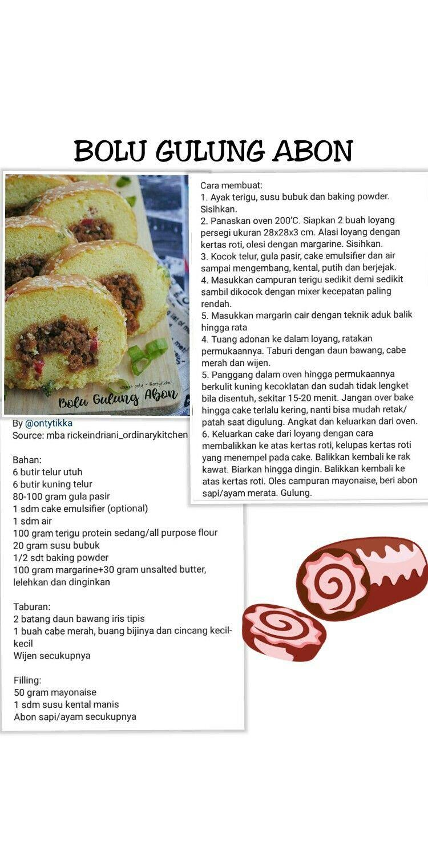 Pin Oleh Marie Di Recipes Resep Resep Kue Makanan