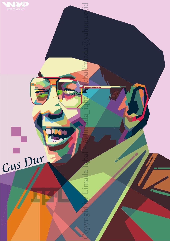 Gambar Karikatur Pahlawan Indonesia