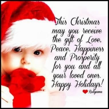 More Than Sayings: Love, Peace, Happiness And Prosperity | Christmas ...