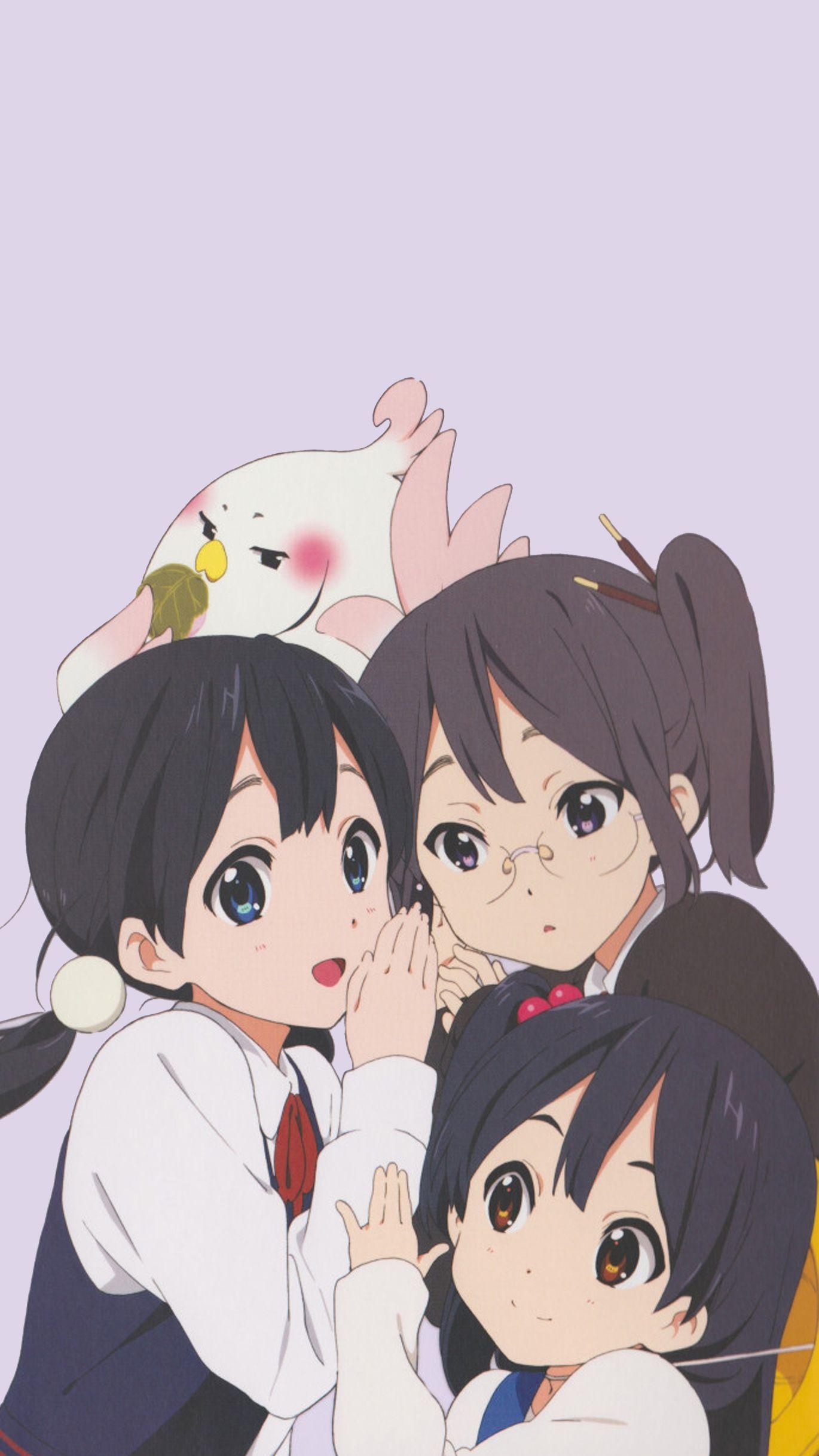 Three Sisters Wallpaper Sister Wallpaper Cute Doodle Art Anime