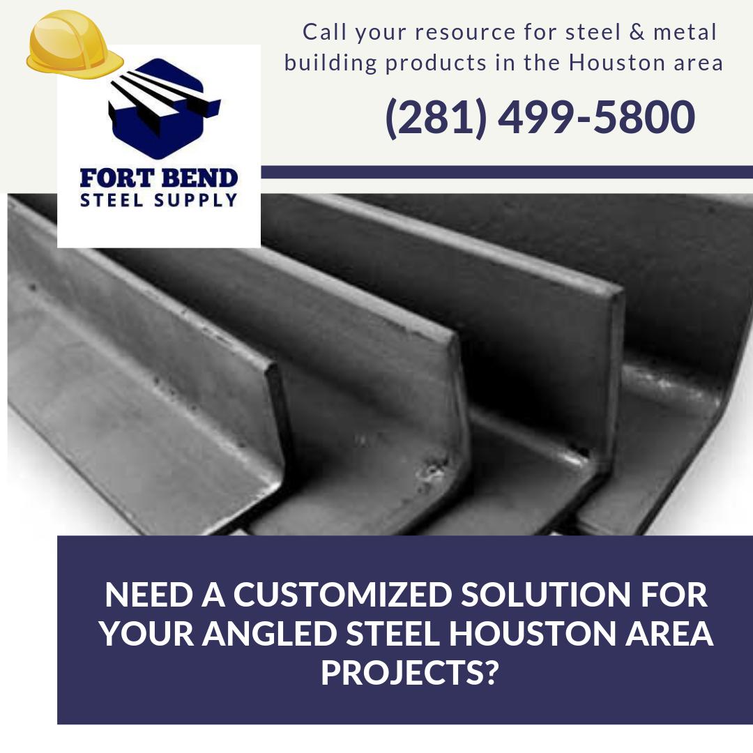 Angled Steel Steel Supply Fort Bend Steel