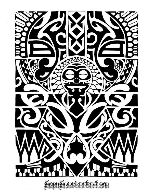 Lower arm tribal 1 by shepush.deviantart.com on @deviantART ...