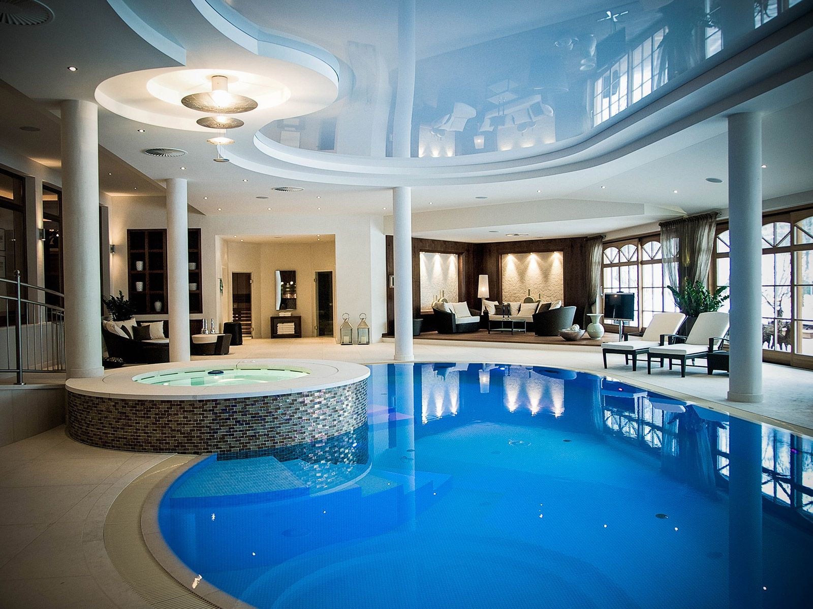 Luxury House Plans With Pools Inside Billionaire Homes Www Pixshark Com Images
