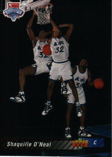 Shaquilleoneal1992 93upperdeckrookiebasketballcard