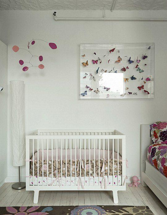 10 habitaciones decoradas con mariposas habitacion bebe for Habitaciones decoradas para ninas