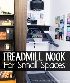 Is Your Home Or Apartment Too Small To Accommodate A Treadmill Exercise Area This Article Will Have You Rethinking That Ll Be Amazed At Where