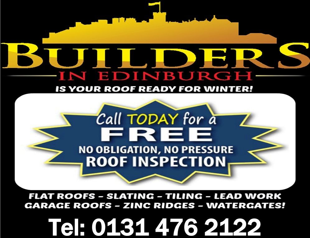 Looking For Builders In Edinburgh Or Around Central Scotland Then Builders In Edinburgh Should Be Your No 1 Choice With Images Edinburgh Central Scotland Roof Inspection