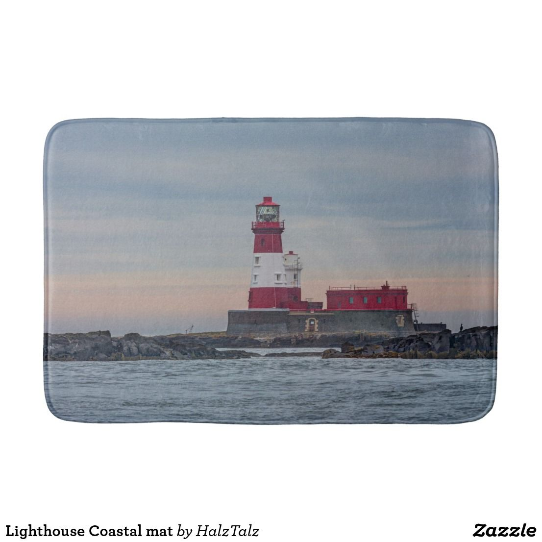 lovely Lighthouse Bath Mats Part - 10: Lighthouse Coastal mat Bath Mats
