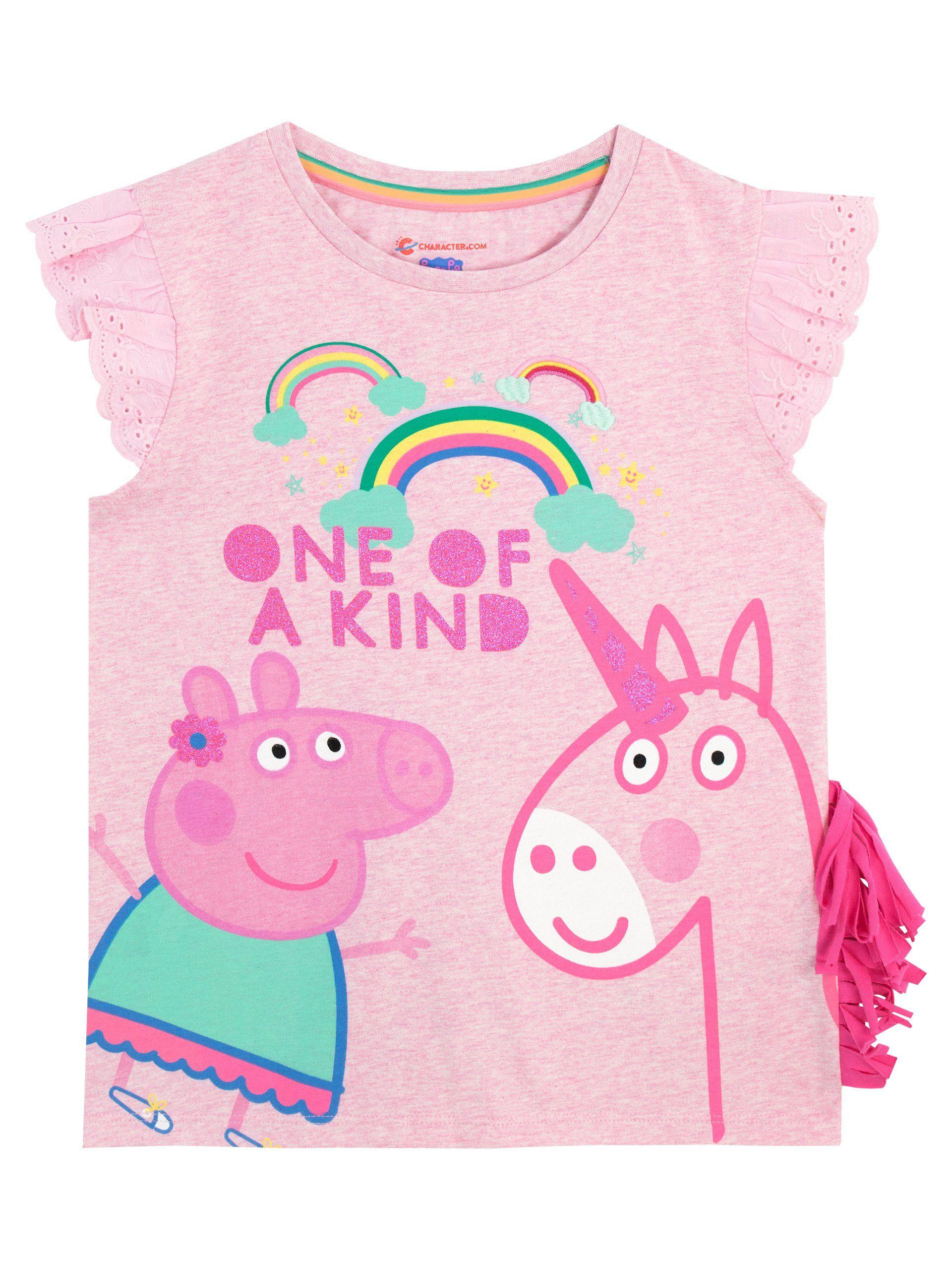 Kleding en accessoires Peppa Pig Dress I Peppa Pig Outfit I Peppa Pig Unicorn Dress