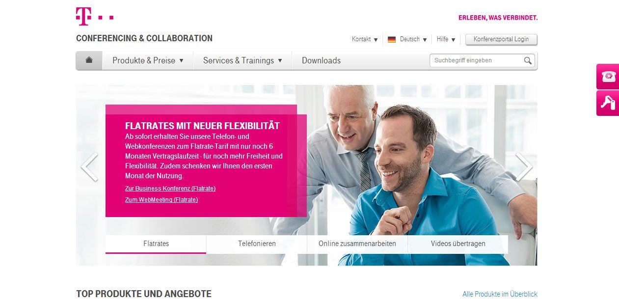 Deutsche Telekom AG https//konferenzen.telekom.de