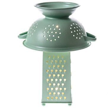 Colander and Grater Accent Lamp