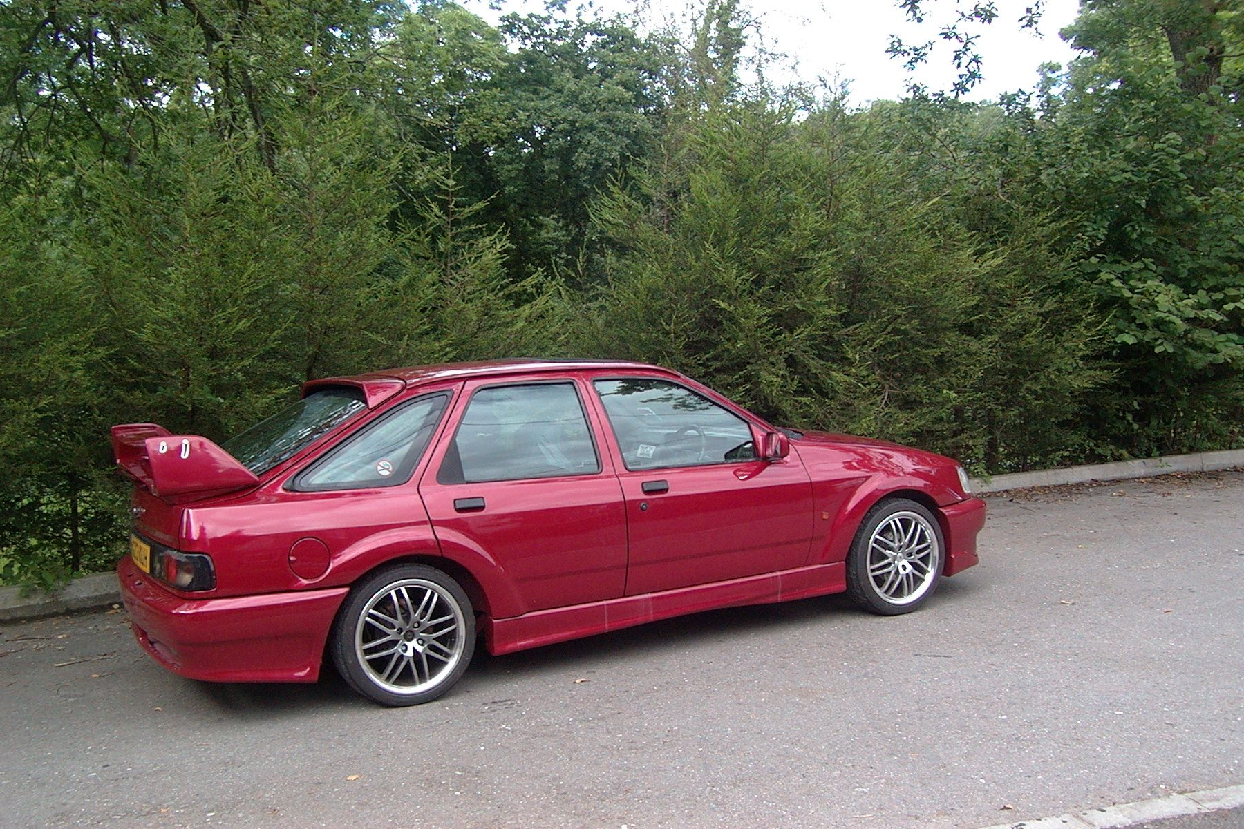 Steve S Ford Sierra Xr4x4 V6 Cosworth Custom Car Custom Cars