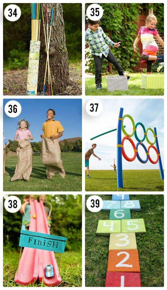fun outdoor games for the entire family parties pinterest