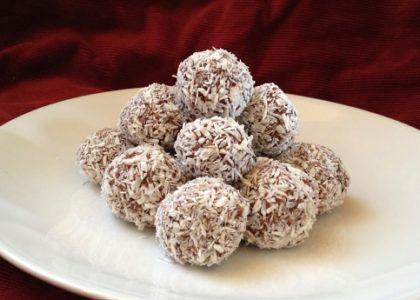 recept på nyttiga chokladbollar