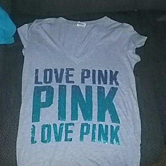 Victoria secret PINK T-shirt Super cute, obre lettering PINK Victoria's Secret Tops Tees - Short Sleeve