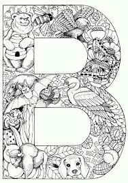 Pin By Monika Telkova On Antistress Letters Alphabet Coloring