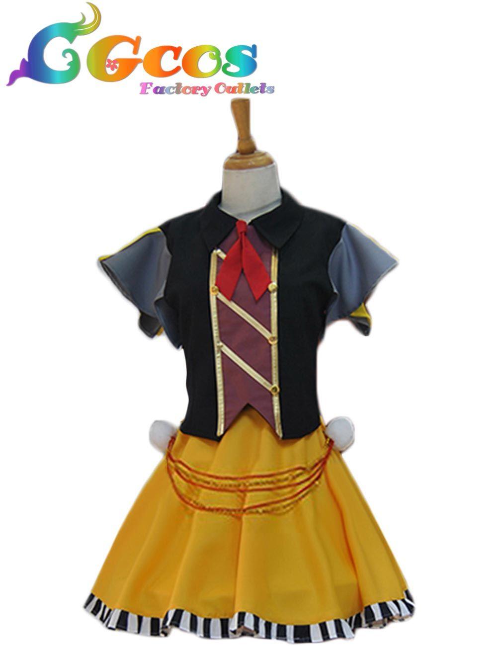 Click to Buy ucuc CGCOS Free Shipping Cosplay Costume Tsukiuta Asagiri