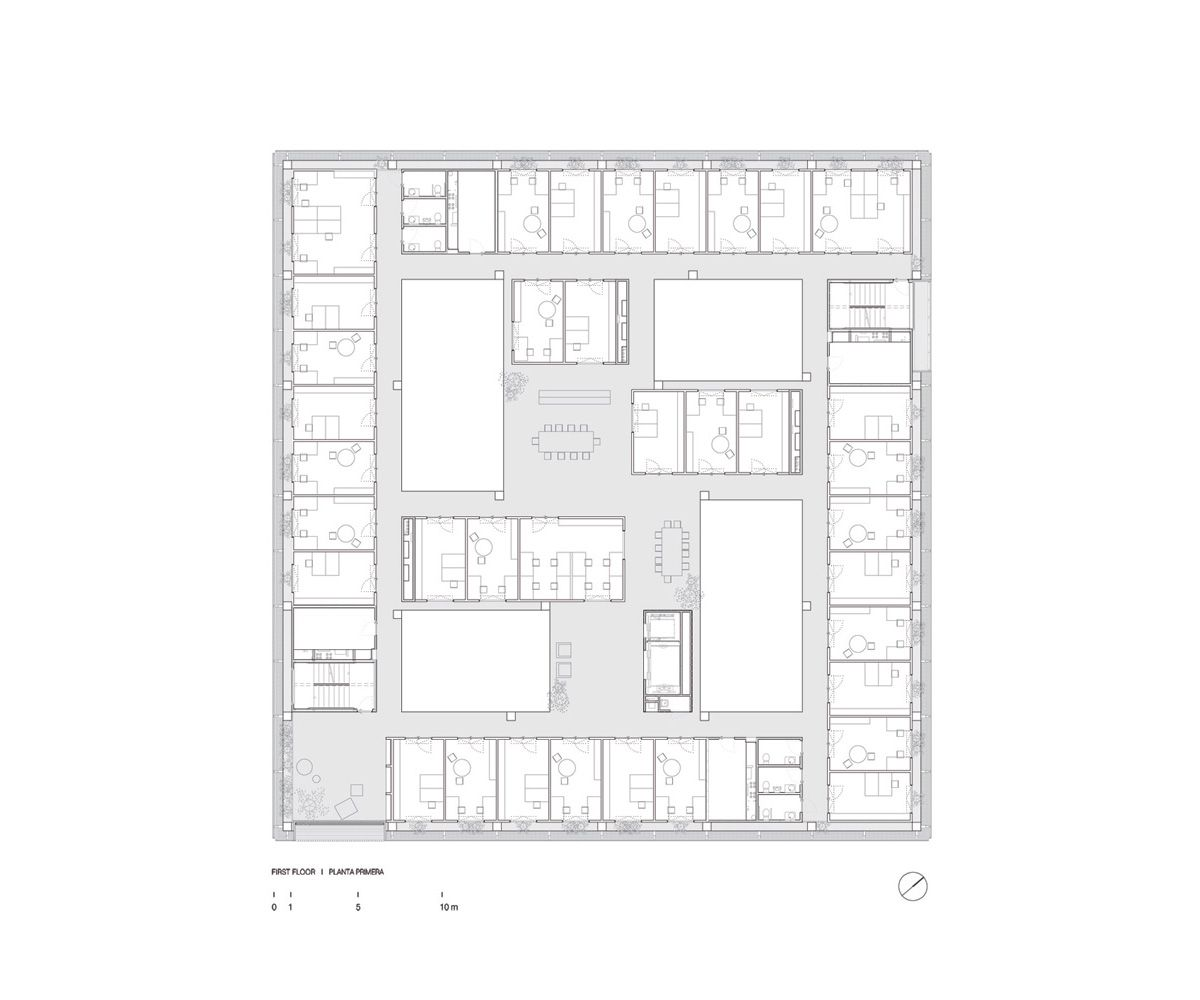 paleontology research center by H arquitectes + dataAE