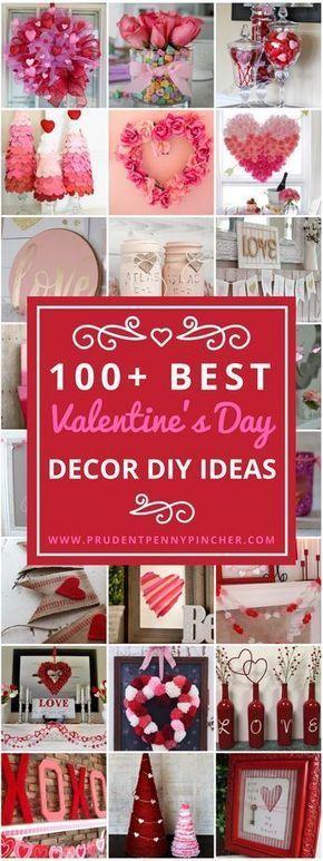 100 Best DIY Valentine's Day Decor Ideas