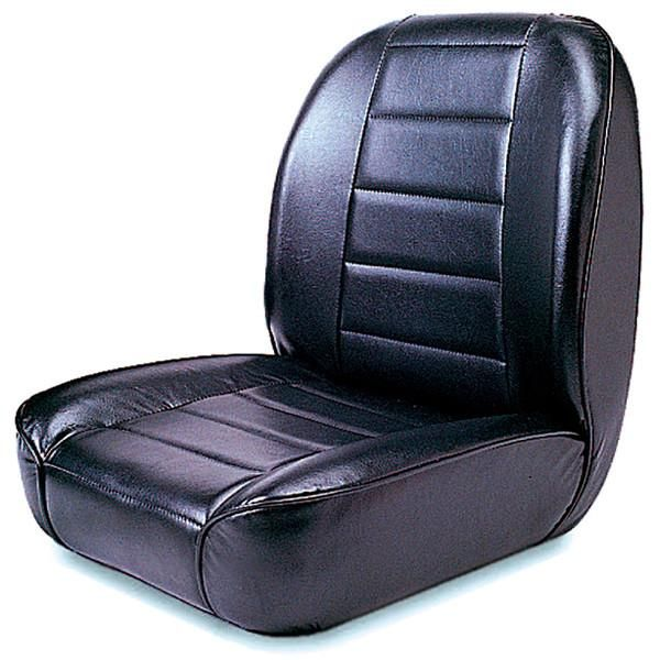 Low Back Front Seat No Recline Black By Rugged Ridge 55 86