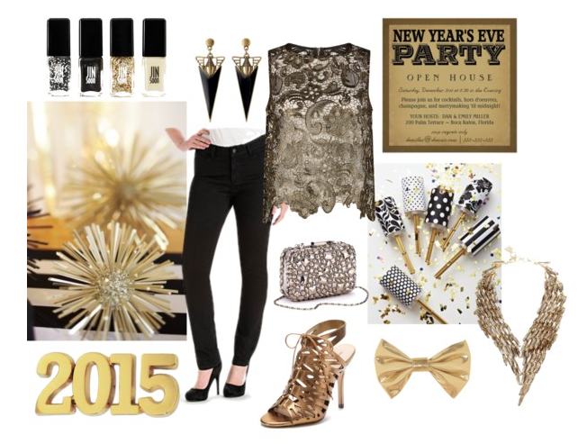 New Years Eve Style: Gold