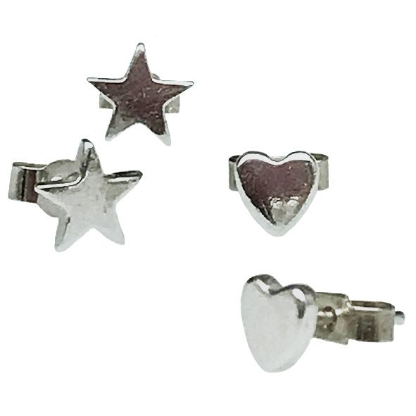 PMC Precious Metal Clay 3 Heart Pattern Cutters