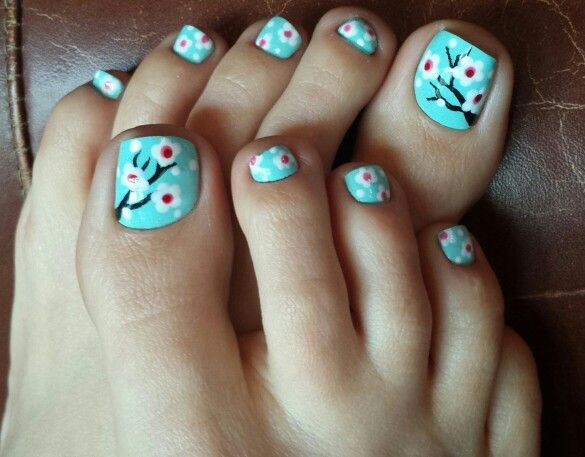 Asian pedicure pictures
