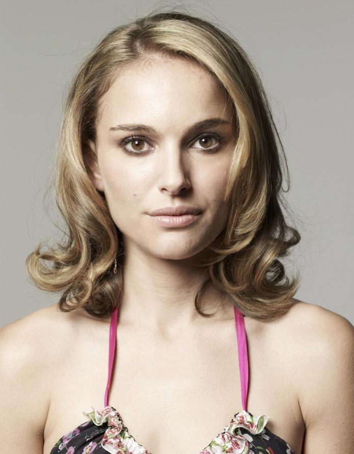 natalie portman shoulder length hair hair pinterest