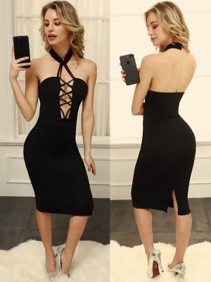 d643a30d7b Sexy Deep V Neck Floral Embroidery Sequined Bodycon Dress