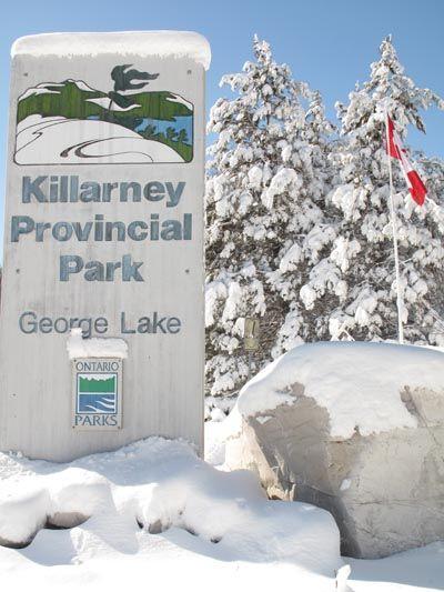 Killarney Provincial Park's winter playground » Parks Blog ...