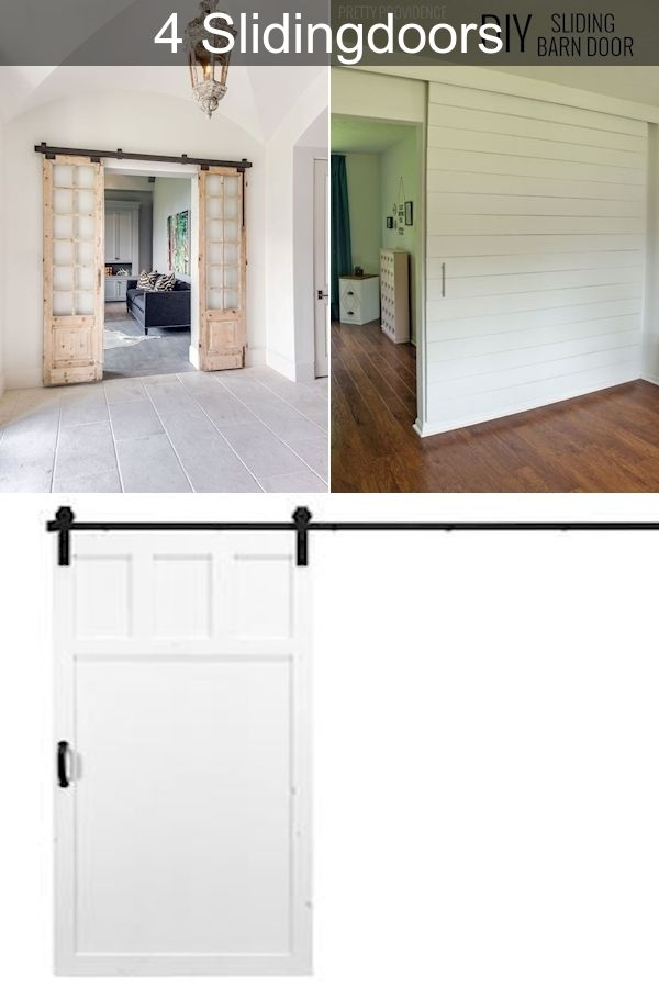 Frosted Glass Sliding Doors Solid Wood Internal Doors Small Sliding Doors Interior In 2020 With Images Interior Barn Doors Sliding Doors Interior