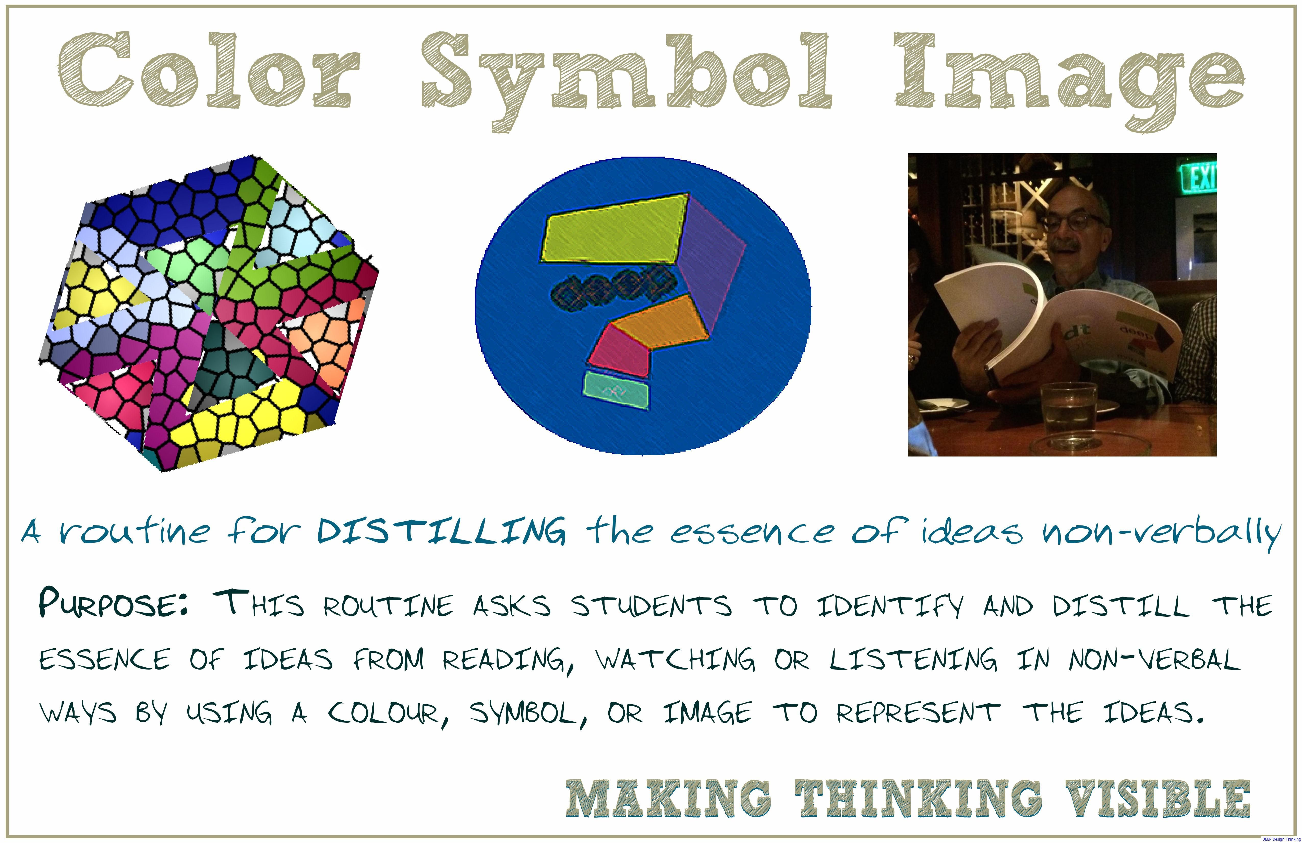 Visible Thinking Routine Color Symbol Image