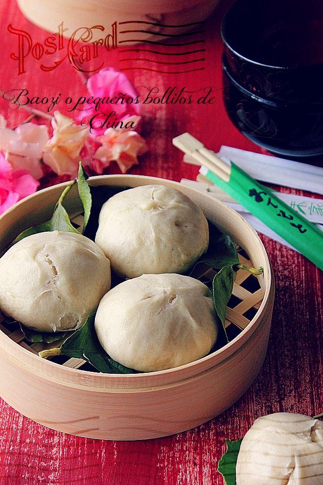 LA COCINA DE BABEL: Baozi {bollitos chinos rellenos ...