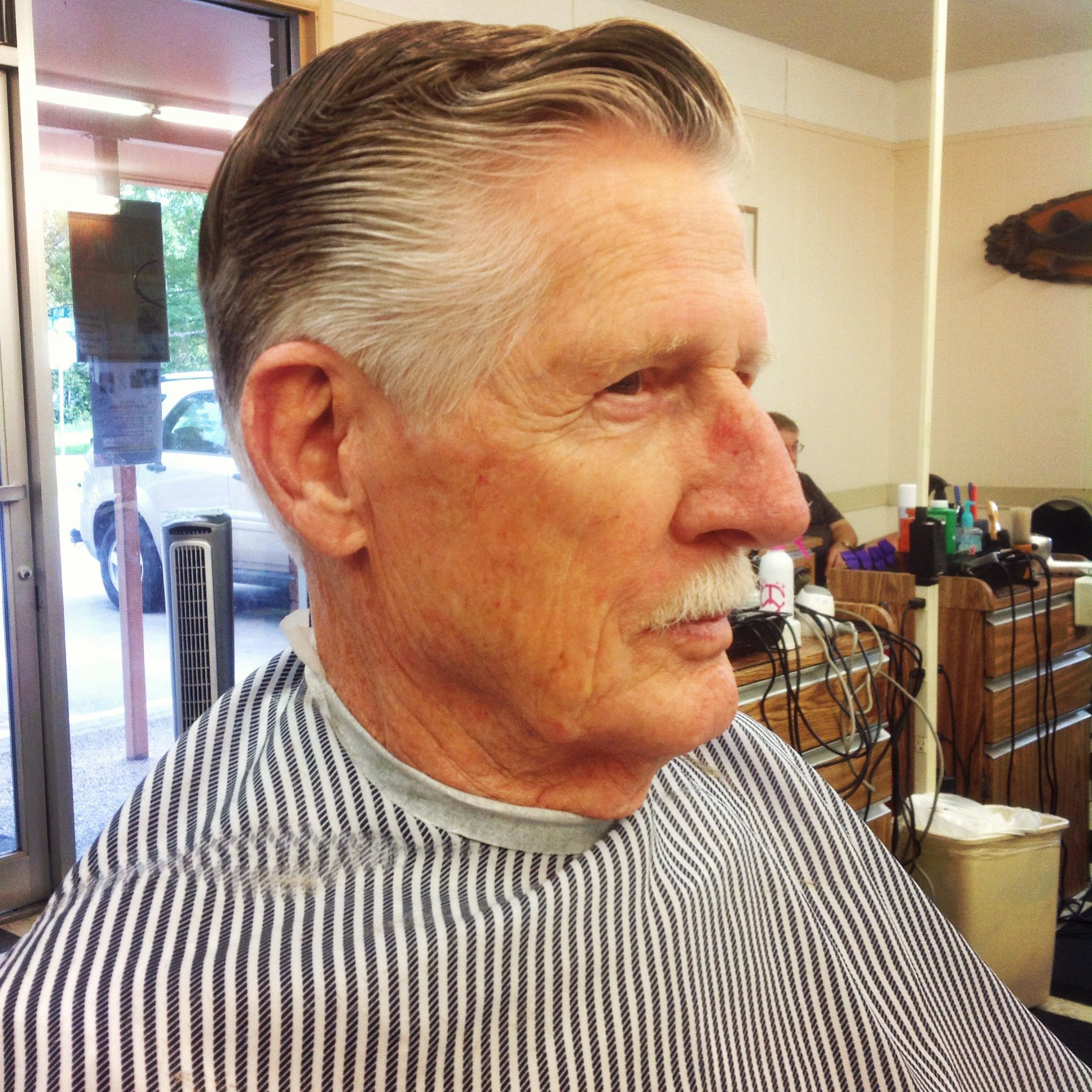 Old Fashioned Man's Haircut