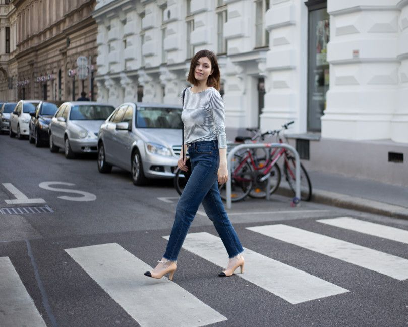 the casual issue streetstyle wien mit chanel court heels