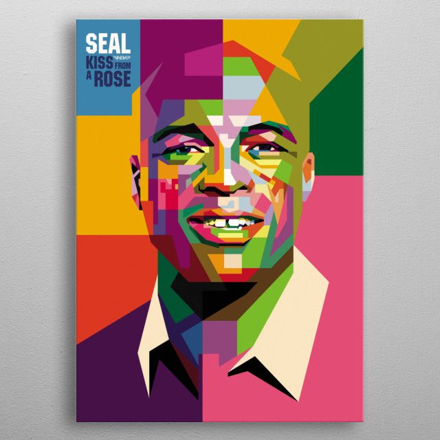 a British singer and songwriter who has sold over 20 million records worldwide metal… | Displate thumbnail