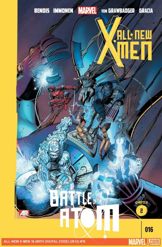 Comic Book Review All New X Men 16 Battle Of The Atom Chapter 2 Comics X Men Atom Comics