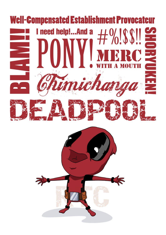 Deadpool Quotes Superhero Pinterest Deadpool quotes