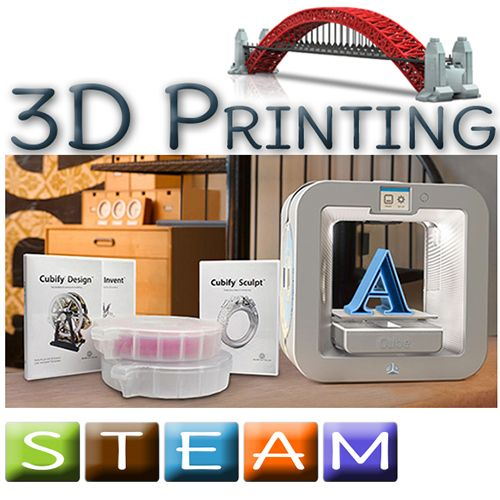 Cube 3D Printers, Modeling Design Software & 3D Scanners
