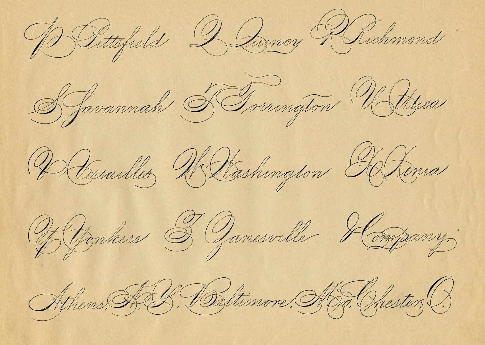 День рождения, подписать открытку красивым шрифтом онлайн