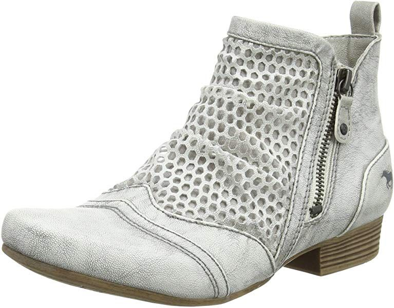 Mustang Women's 1176 504 203 Ankle Boots, Off White (203 Ice